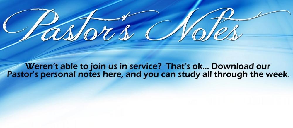 Pastor's Notes copy